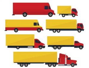انواع شاحنات نقل الاثاث