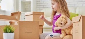 التهيئة النفسية للطفل قبل الانتقال إلى منزل جديد