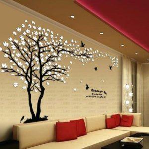 فني تركيب ورق جدران بالرياض ثلاثي الابعاد